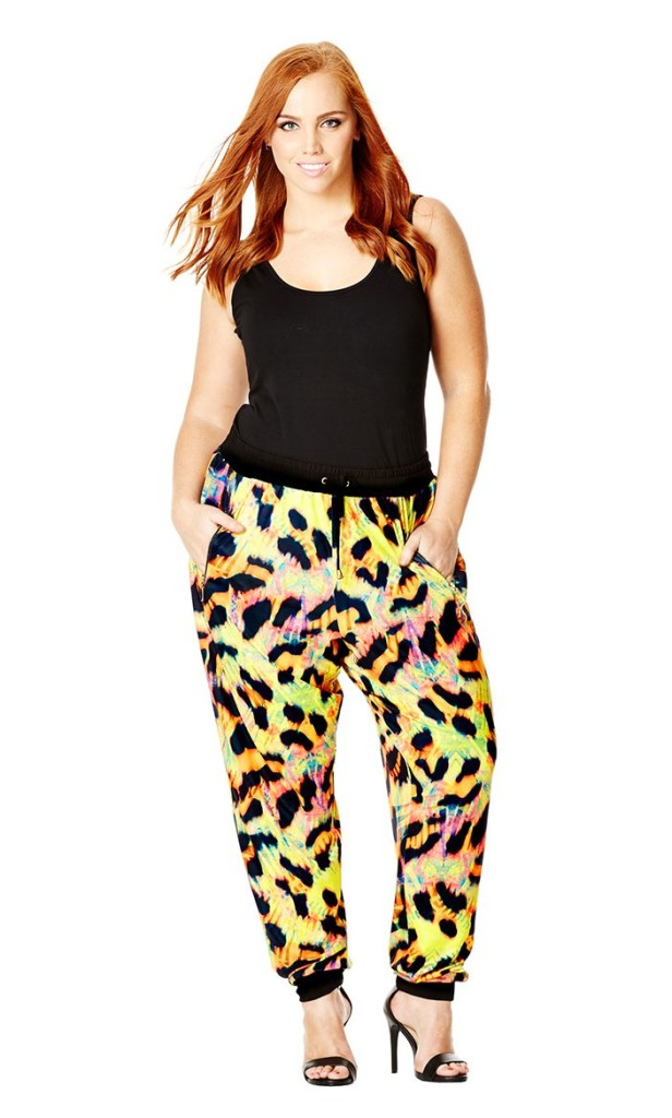 City Chic Jogger Madness Pants