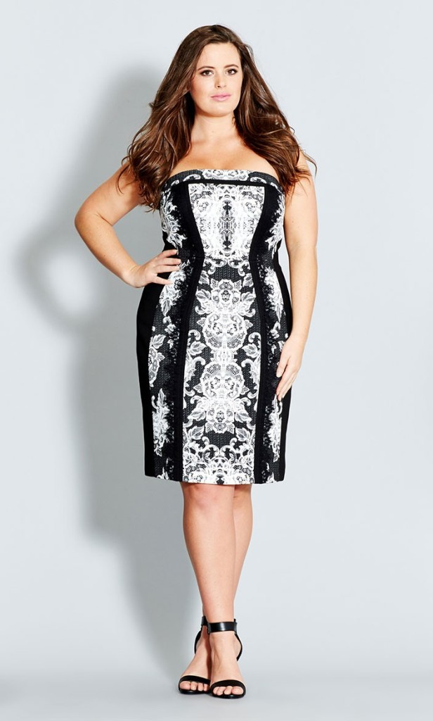 City Chic Lace Dress