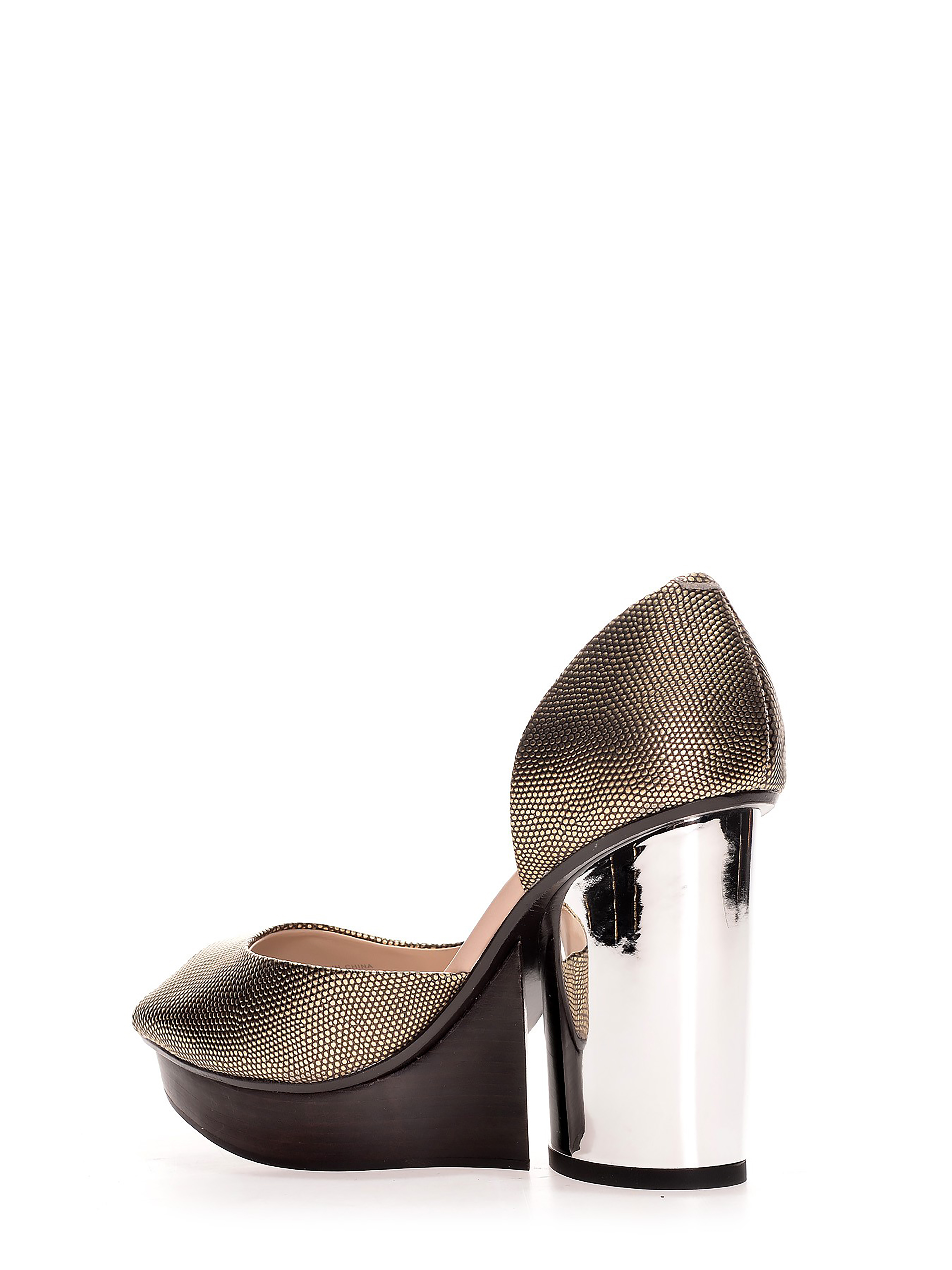 United Nude_River Pump_Gold