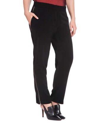 eloquii studio zip pants